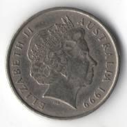 5 центов 1999г. Австралия