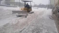 Уборка снега, расчистка проездов, вывоз.