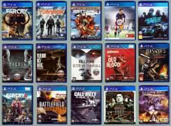 Игры для PS3 и PS4 (новые)