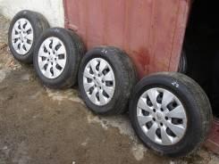 Отличные колеса Bridgestone 2012 195/65/15 лето