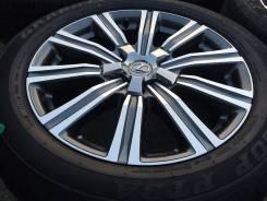 NEW Оригинальные колеса R21 5*150 Lexus LX570 2016+ 275/50 R21 Dunlop. 8.5x21 5x150.00 ET54