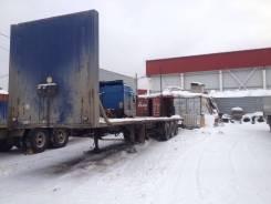 Samro. Продам полуприцеп площадка SR 338, 34 000 кг.