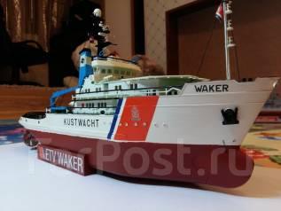 "Сборная модель корабля ""Waker"", с рубля."