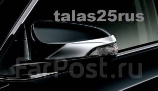 Накладка на зеркало. Toyota Corolla Fielder, ZRE162G, NZE161G, NKE165G, NKE165, NRE160, ZRE162, NRE161G, NZE161, NZE164G, NZE164