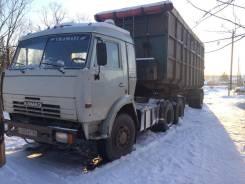 Камаз 54115. Камаз +полуприцеп Щеповоз, 10 850 куб. см., 12 000 кг.