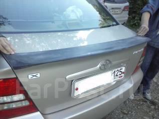 Спойлер. Toyota Corolla, ZZE123L, CE120, CE121, NZE124, CDE120, ZRE120, ZZE121L, ZZE120L, ZZE120, ZZE121, NZE120, ZZE122, NZE121, ZZE123, ZZE124, NDE1...