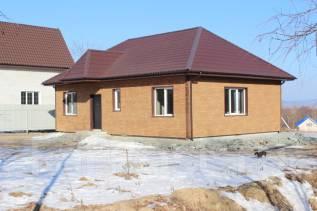 Продается новый котедж в микрорайоне Лесной г. Артем. Мкр. Лесной 119 а, р-н Лесной, площадь дома 100 кв.м., централизованный водопровод, электричест...