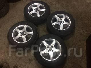 Продам колеса 175/70R14 с зимней резиной. x14 4x100.00