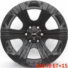 XD Series. 9.0x20, 6x139.70, ET15, ЦО 110,0мм.