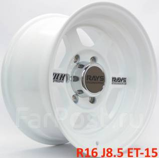 Toyota Hilux Surf. 8.5x16, 6x139.70, ET-15, ЦО 110,1мм.