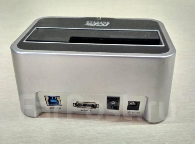 Док-станции для жестких дисков.