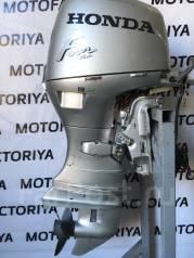 Honda. 50,00л.с., 4х тактный, бензин, нога L (508 мм), Год: 2001 год