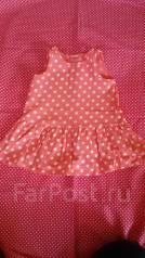 Платья. Рост: 60-68, 68-74 см