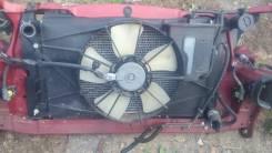 Радиатор охлаждения двигателя. Toyota Corolla Spacio, NZE121