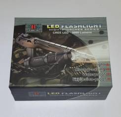 Компактный и мощный светодиодный фонарик + аккумулятор + зарядное устр