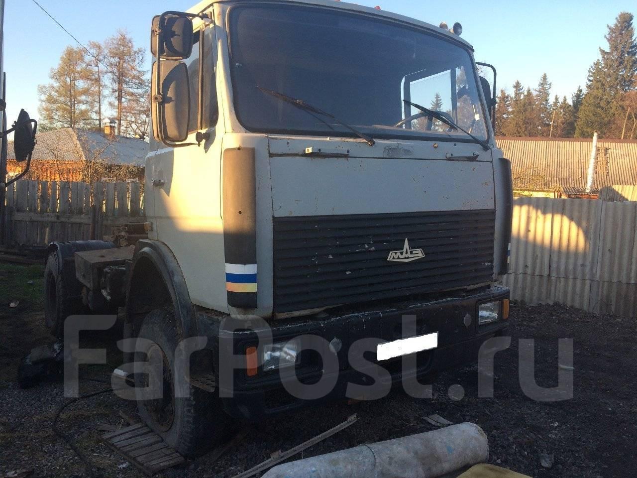 МАЗ 5549 самосвал  МАЗ 5549 1988  Грузовики в Минусинске
