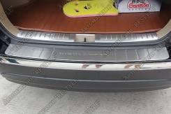 Накладка на бампер. Toyota Highlander, GVU48, GSU40, ASU40, GSU45, MHU48