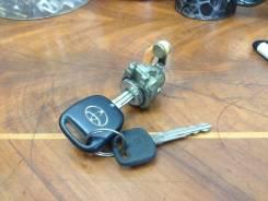 Рулевая колонка + ключи + лечинка двери JZX110 GX11. Toyota Verossa, JZX110 Toyota Mark II Wagon Blit, JZX110 Toyota Mark II, JZX110