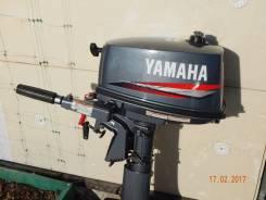 Yamaha. 5,00л.с., 2х тактный, бензин, нога S (381 мм), Год: 2010 год