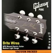 Gibson SEG-700ML Brite Wires NPS Wound 11-50 струны для электрогитары