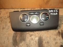 Блок управления климат-контролем. Nissan Tiida Latio, SNC11 Двигатель HR15DE