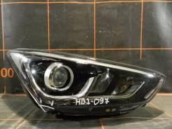 Фара. Hyundai Santa Fe, DM Двигатели: D4HB, G4KE