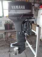 Yamaha. 40,00л.с., 2х тактный, бензин, нога XX (762 мм), Год: 2001 год