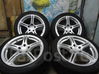 Продам Крутейший Разн. Спорт SSR Integral GT1+Лето Жир215/45-255/40R17. 8.0/9.0x17 5x114.30 ET32/38