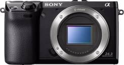 Sony Alpha NEX-7 Body. 20 и более Мп, зум: без зума