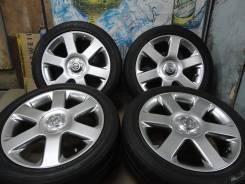 Продам Стильные Под Чёр. Хром колёса Nissan Elgrand+Лето 205/50R17. 6.5x17 5x114.30 ET45