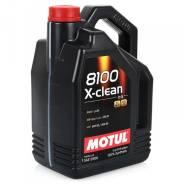 Motul 8100 X-Clean. Вязкость 5W-30, синтетическое
