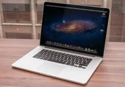 "Apple MacBook Pro 15 2012 Mid MD104. 15.4"", 2,6ГГц, ОЗУ 8192 МБ и больше, диск 750 Гб, WiFi, Bluetooth"