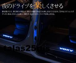 Накладка на порог. Toyota Voxy, ZRR80, ZRR80G, ZRR80W, ZRR85, ZRR85G, ZRR85W, ZWR80, ZWR80G, ZWR80W
