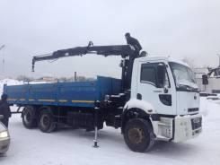 Ford Cargo. с кму Hiab - 2008 г. в, 7 000 куб. см., 15 000 кг.