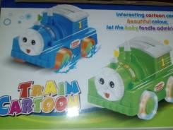 Поезда.