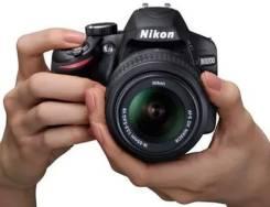 Nikon D3200. 20 и более Мп, зум: 5х