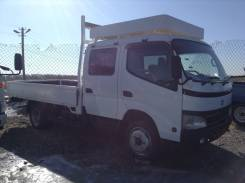 Toyota Dyna. , широкобазый двухкабинный грузовик, 4 600 куб. см., 3 500 кг.