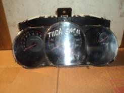 Спидометр. Nissan Tiida Latio, SNC11 Двигатель HR15DE