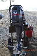 Yamaha. 30,00л.с., 2х тактный, бензин, нога S (381 мм), Год: 2011 год