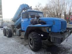 Урал 44202. УРАЛ 44202 длинобазовый тягач с КМУ, 1 150 куб. см., 12 000 кг.