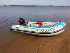 Golfstream. Год: 2012 год, длина 3,65м., двигатель подвесной, 15,00л.с., бензин