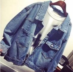 Куртки джинсовые. 44. Под заказ