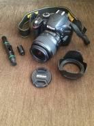 Nikon D3200 Kit. 20 и более Мп, зум: 3х