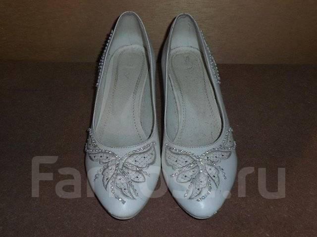 Туфли белые 37р.
