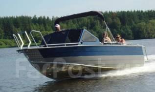 Rusboat. Год: 2017 год, длина 6,00м., двигатель подвесной, 150,00л.с., бензин. Под заказ