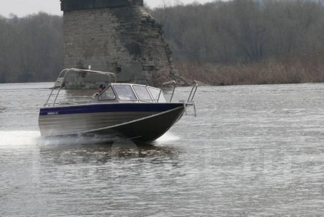 Rusboat-55. Год: 2017 год, длина 5,90м., двигатель подвесной, 150,00л.с., бензин. Под заказ