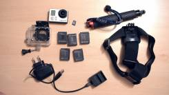 GoPro HD HERO3. 5 - 5.9 Мп, с объективом
