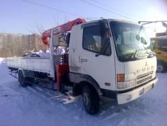 Mitsubishi Fuso. Самогруз в Новосибирске, 8 200 куб. см., 5 000 кг., 10 м.