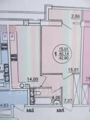 1-комнатная, Мореходная. Южный, агентство, 42 кв.м.