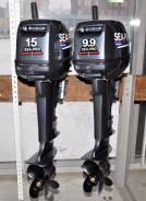 Sea-Pro. 15,00л.с., 2х тактный, бензин, нога S (381 мм), Год: 2016 год